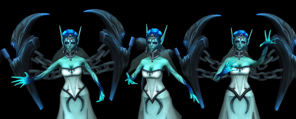 Riot Art Contest] - Ghost Bride Morgana — polycount