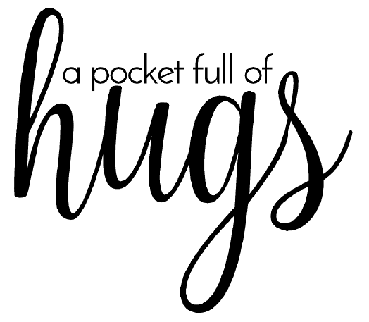 a pocket full of hugs free card sentiment