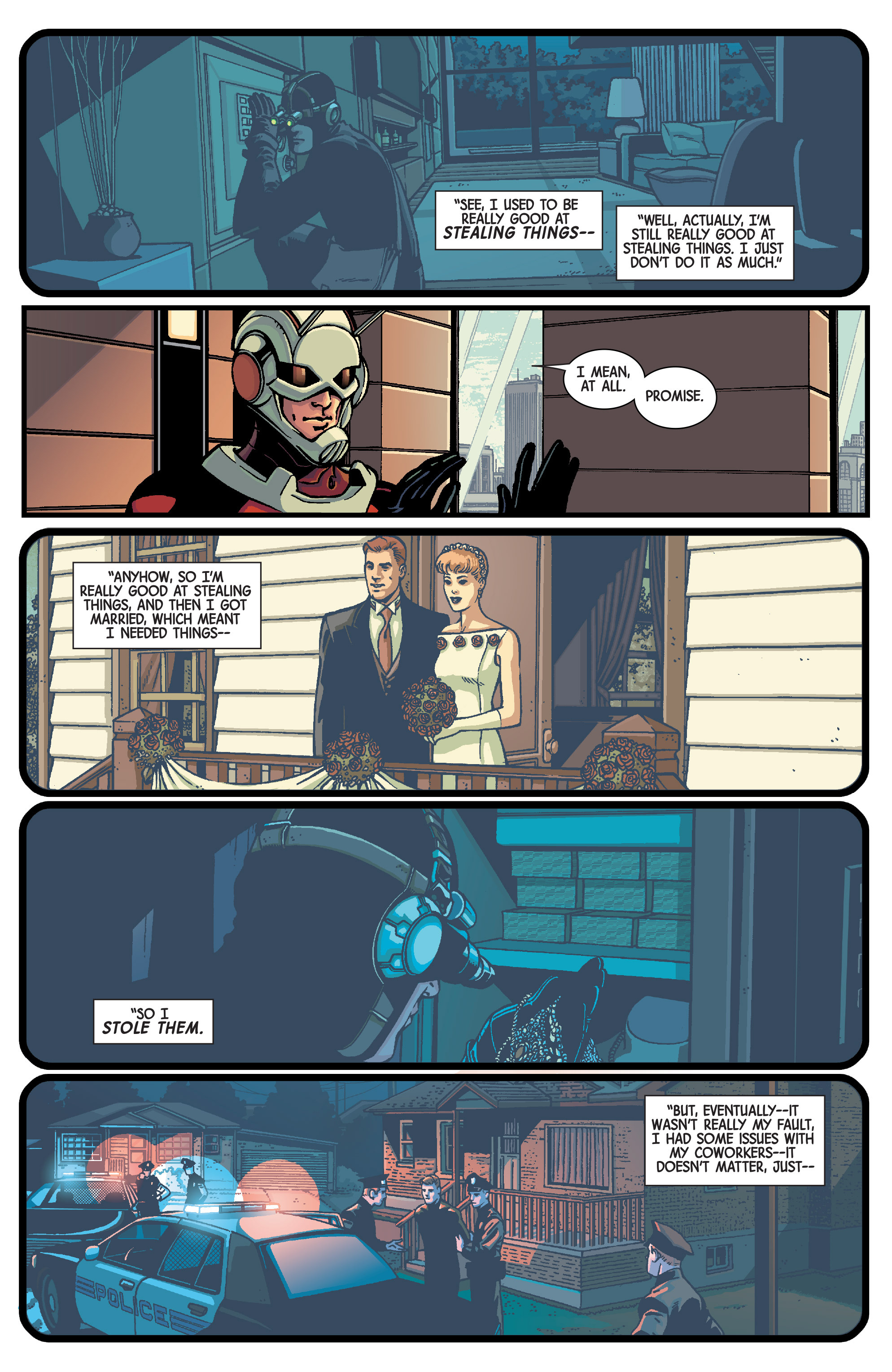 Read online Ant-Man comic -  Issue #1 - 8