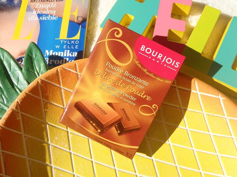 Bourjois Delice de Poudre, czekoladka Bourjois