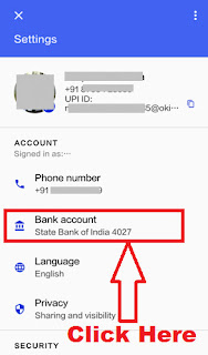 how to add bank account in google upi tez payment app