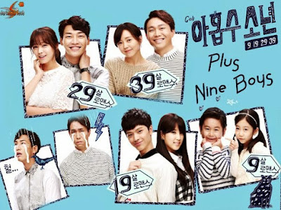 Drama korea komedi hantu baca PLUS NINE BOYS 2014