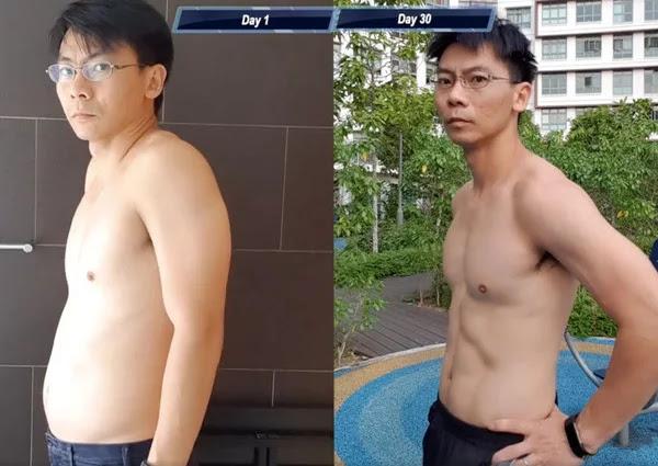 Pria Asal Singapura ini Jalani Workout 30 Hari Ala Saitama, Lihat Perubahannya!