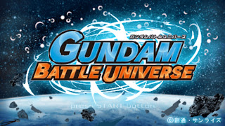 Game Gundam Battle Universe ISO PPSSPP Download