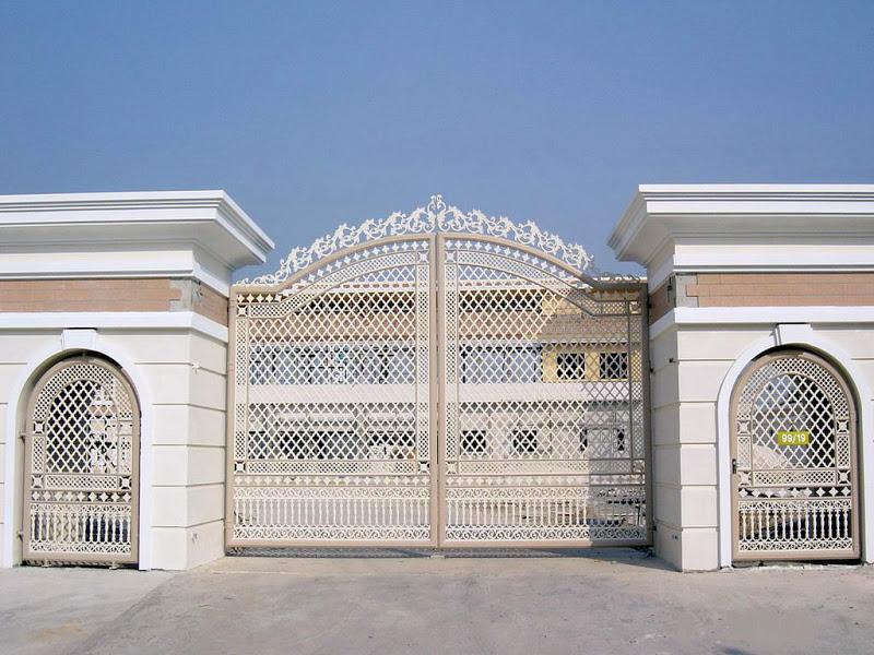 Iron gates design gallery - KERALA HOME DEZIGN on Iron Get Design  id=15101