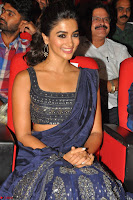 Pooja Hegde choli saree at DJ Duvvada Jaggannadham music launch ~  Exclusive 25.jpg