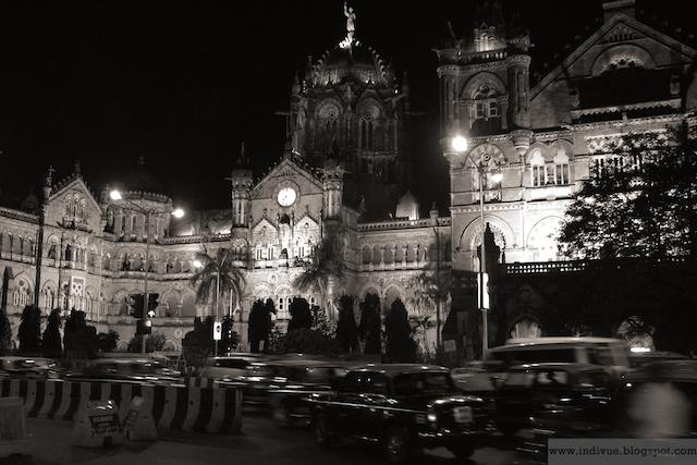 Chhatrapati Shivaji Terminus, Mumbai, Intia