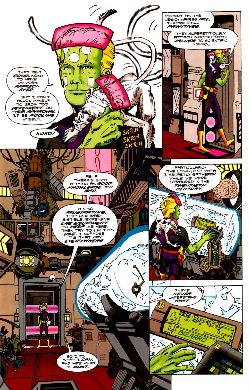 Legion of Super-Heroes (1989) 113 Page 6