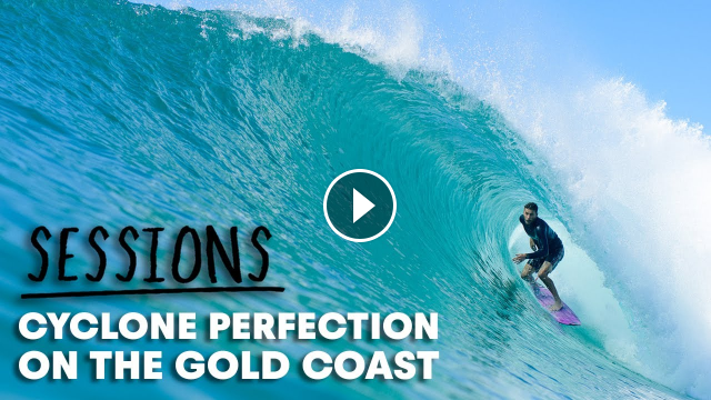 The Swell Of The Year Hits The Gold Coast And All The Pros Were Invited Sessions