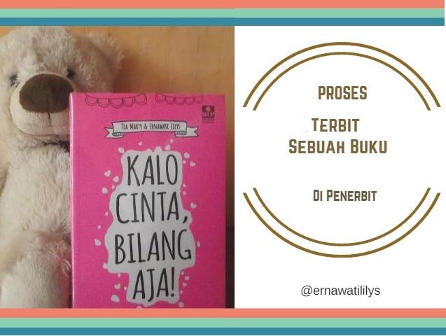 Proses Terbit Sebuah Buku Di Penerbit