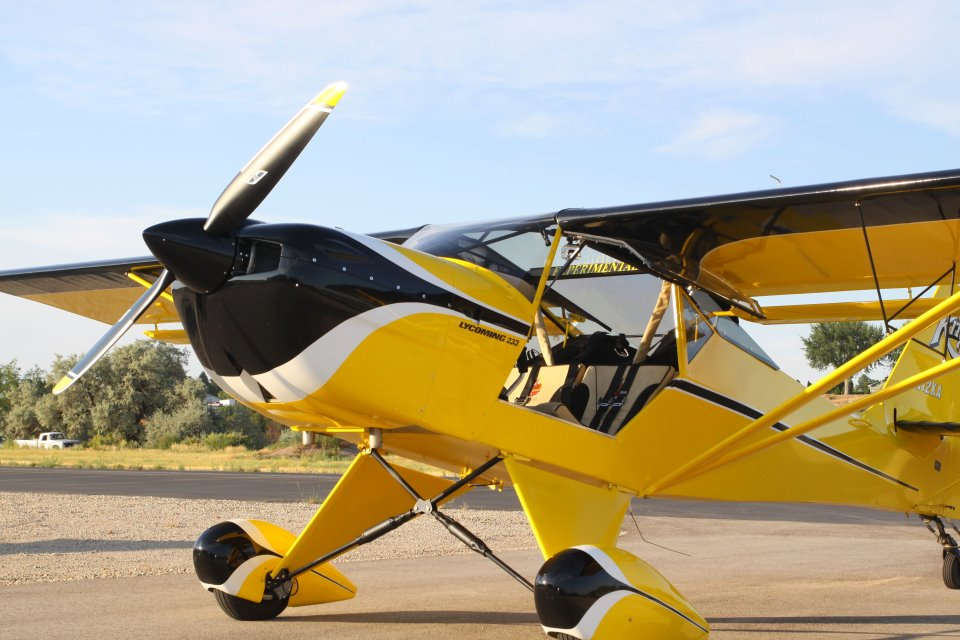 Fly Kitplanes: Kitplane Engines - Lycoming IO-233