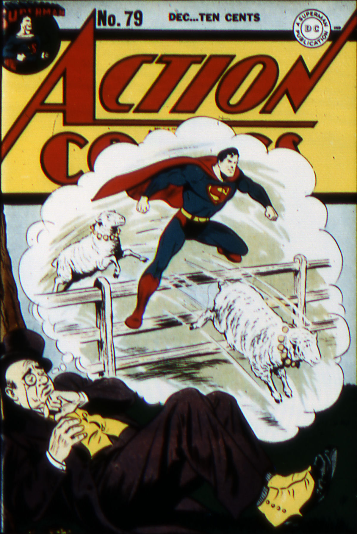 Read online Action Comics (1938) comic -  Issue #79 - 1