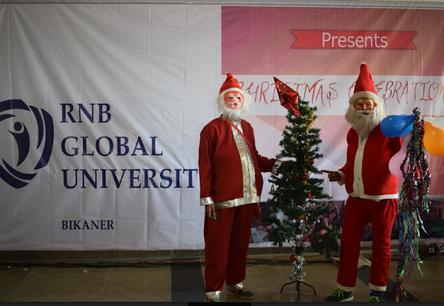 Christmas Celebration at RNB Global University, Bikaner