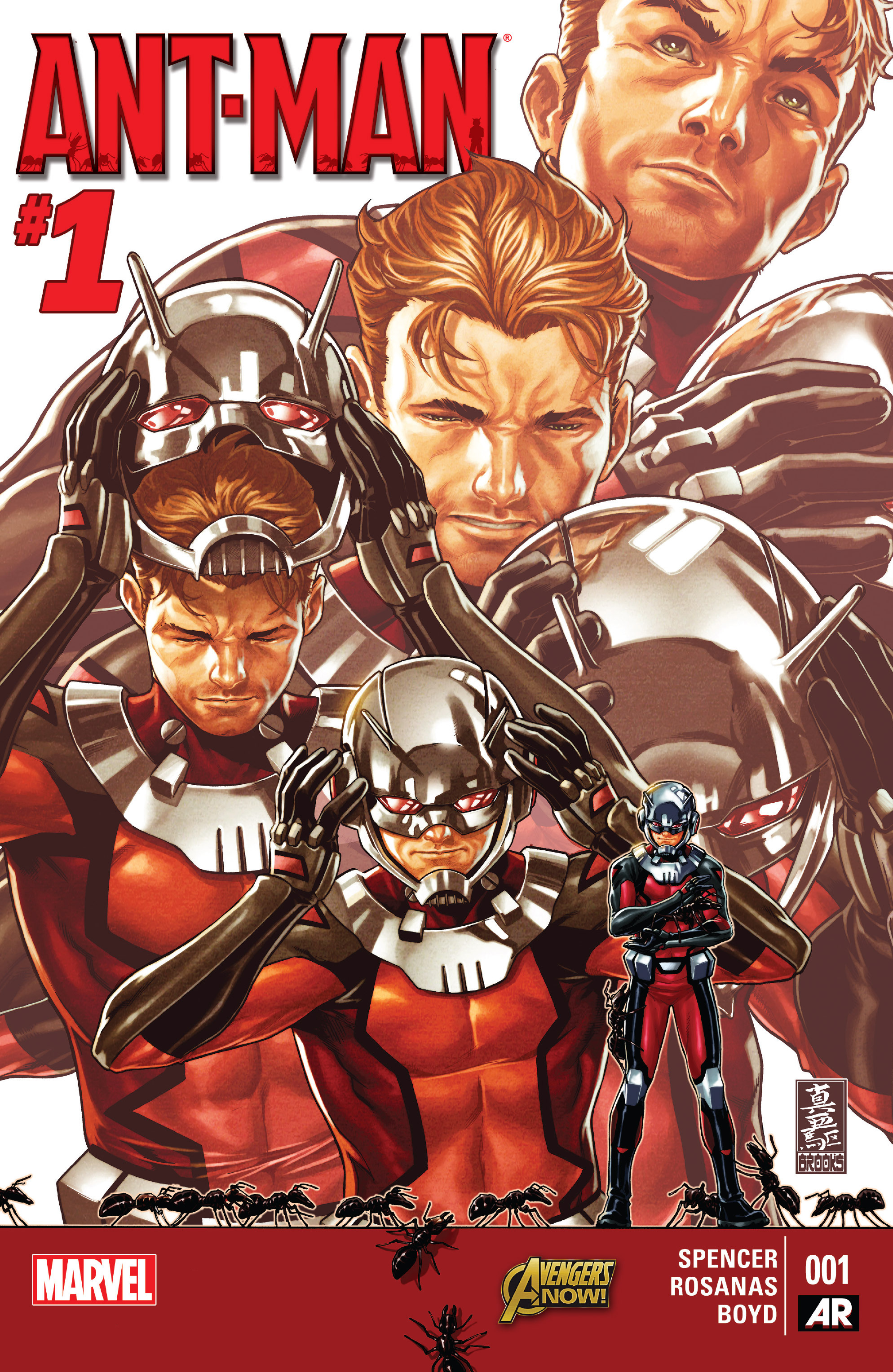 Read online Ant-Man comic -  Issue #1 - 1