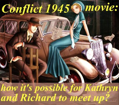 conflict 1945 murder mystery movie, richard, kathryn mason, film