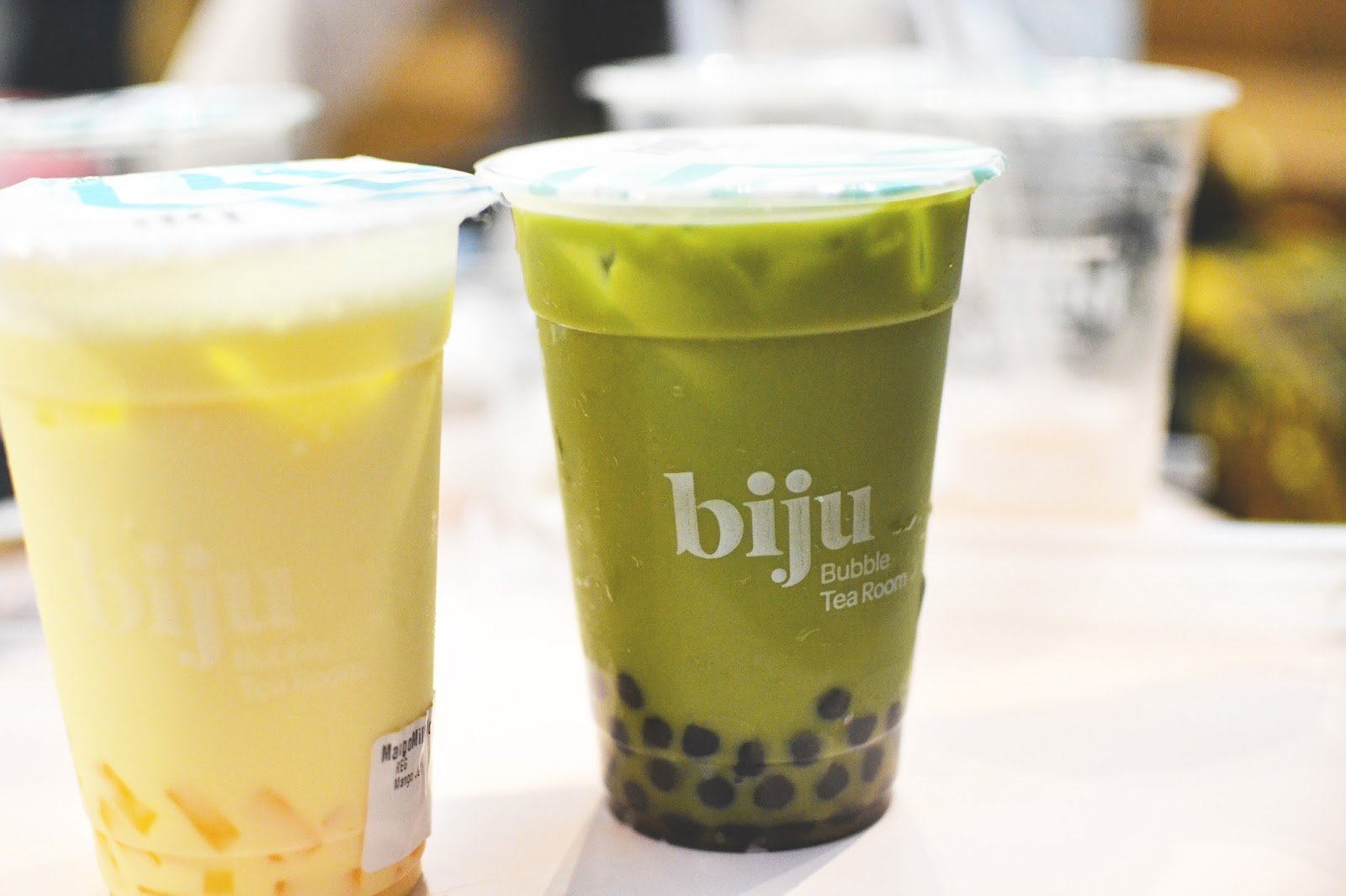 biju bubble tea, london bubble tea