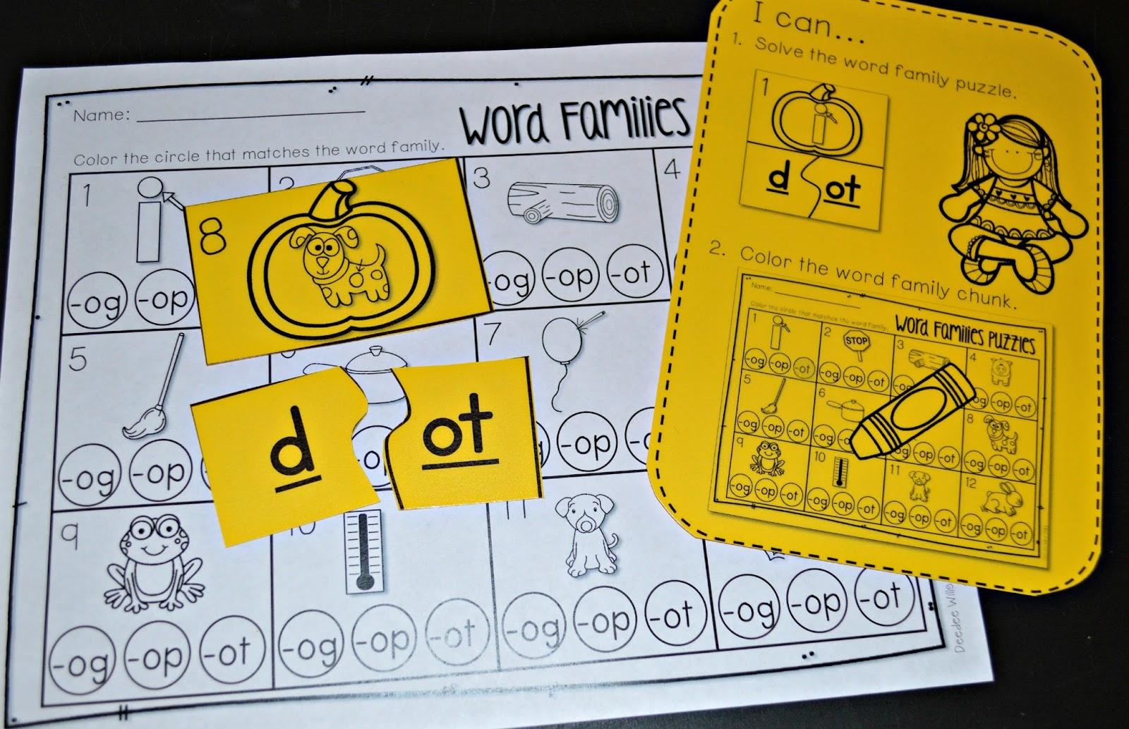 November Kindergarten Math And Literacy Stations
