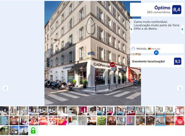 Hotel du Cadran em Paris