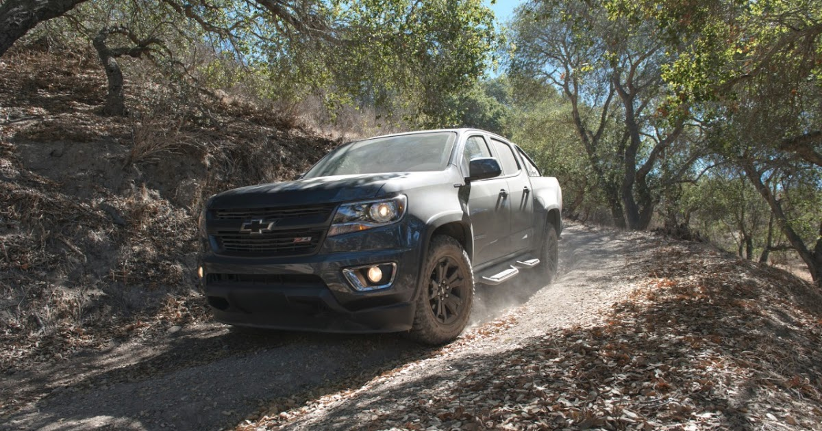 Chevy colorado will be offered with a new v6 and 8 speed automatic