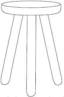 Gambar Kursi Kayu Kecil