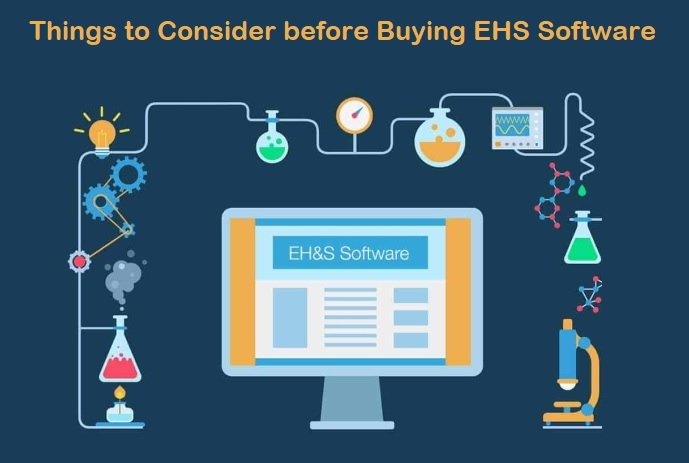 Things to Consider before Buying EHS Software