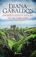 Escrito con la sangre de mi corazón 8, Diana Gabaldon