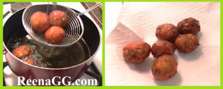 chinese pakora recipe step 4