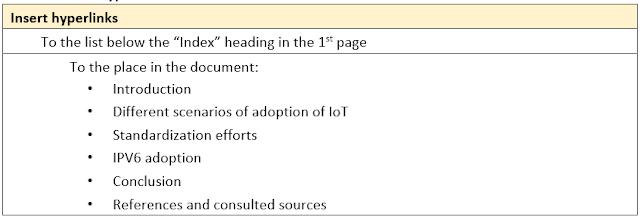 Task 3 – Insert Hyperlink