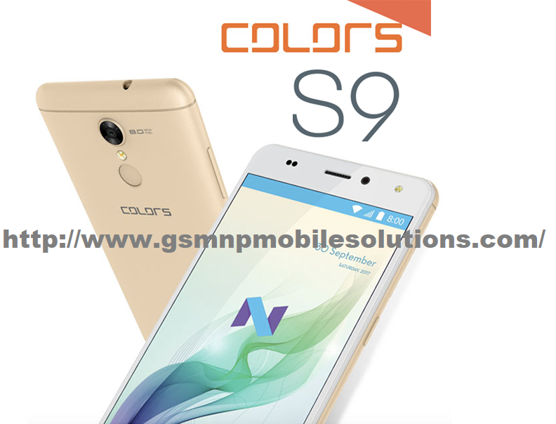 Colors S9 Latest Update Official Firmware Stock Rom/Flash