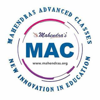 New Innovation In Education | MAC | Mahendras Advanced Classes