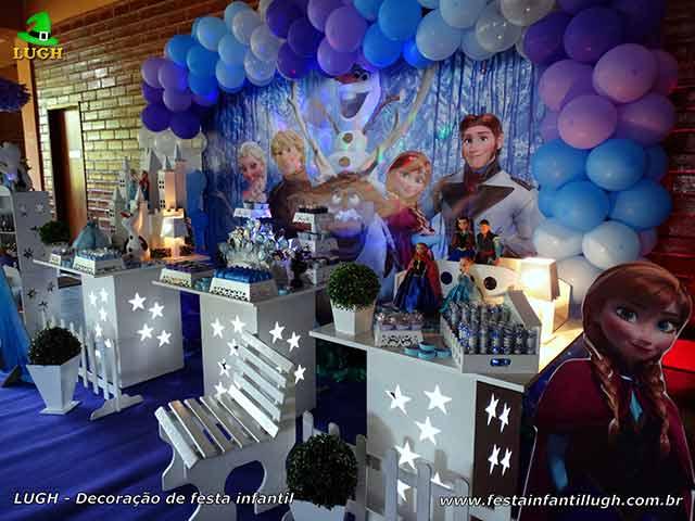 Festa infantil Frozen - aniversário feminino