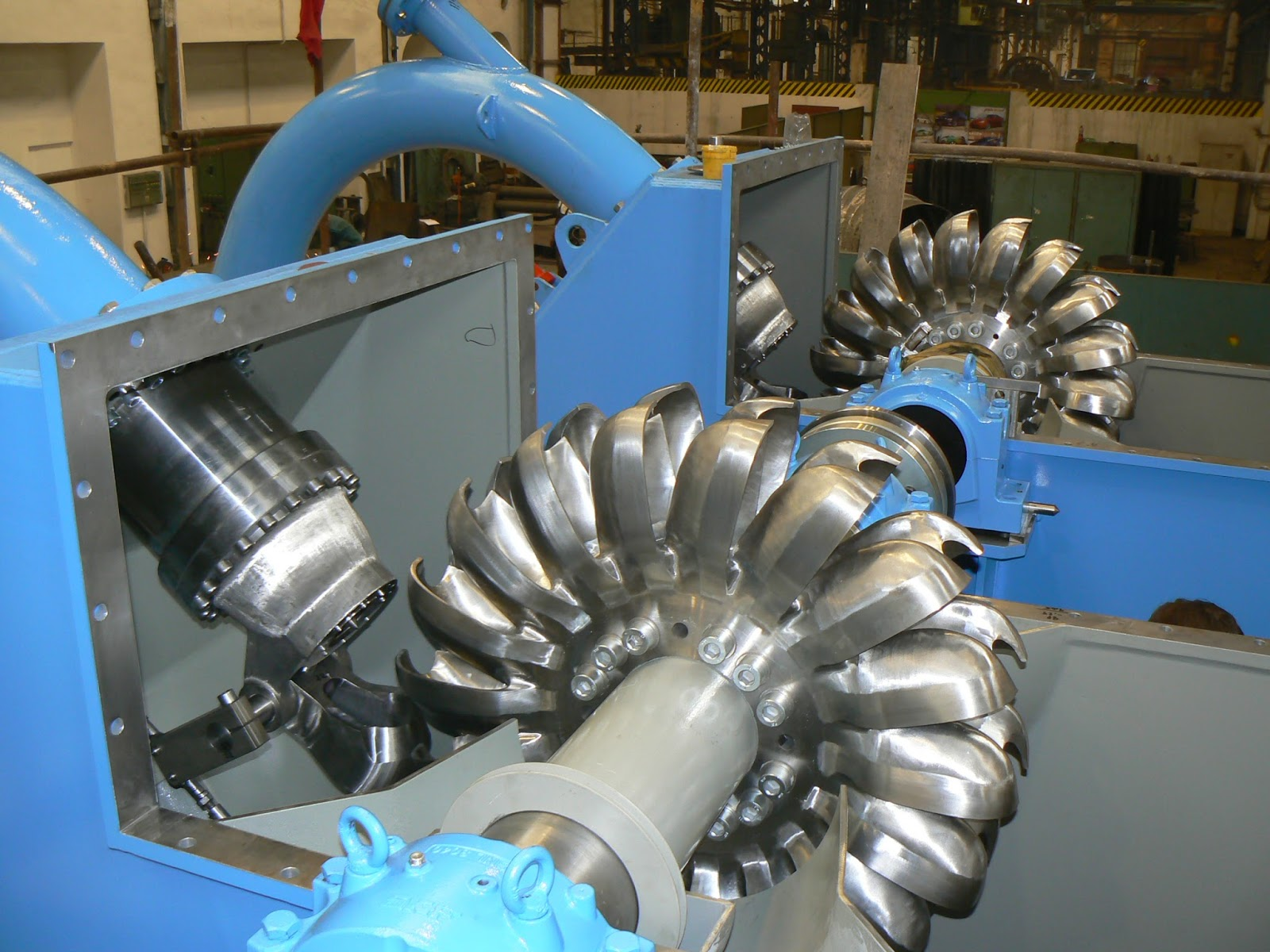 Working Principle Main Parts And Types Turbines