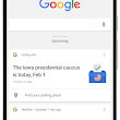 On the road to the 2016 elections with Google Search