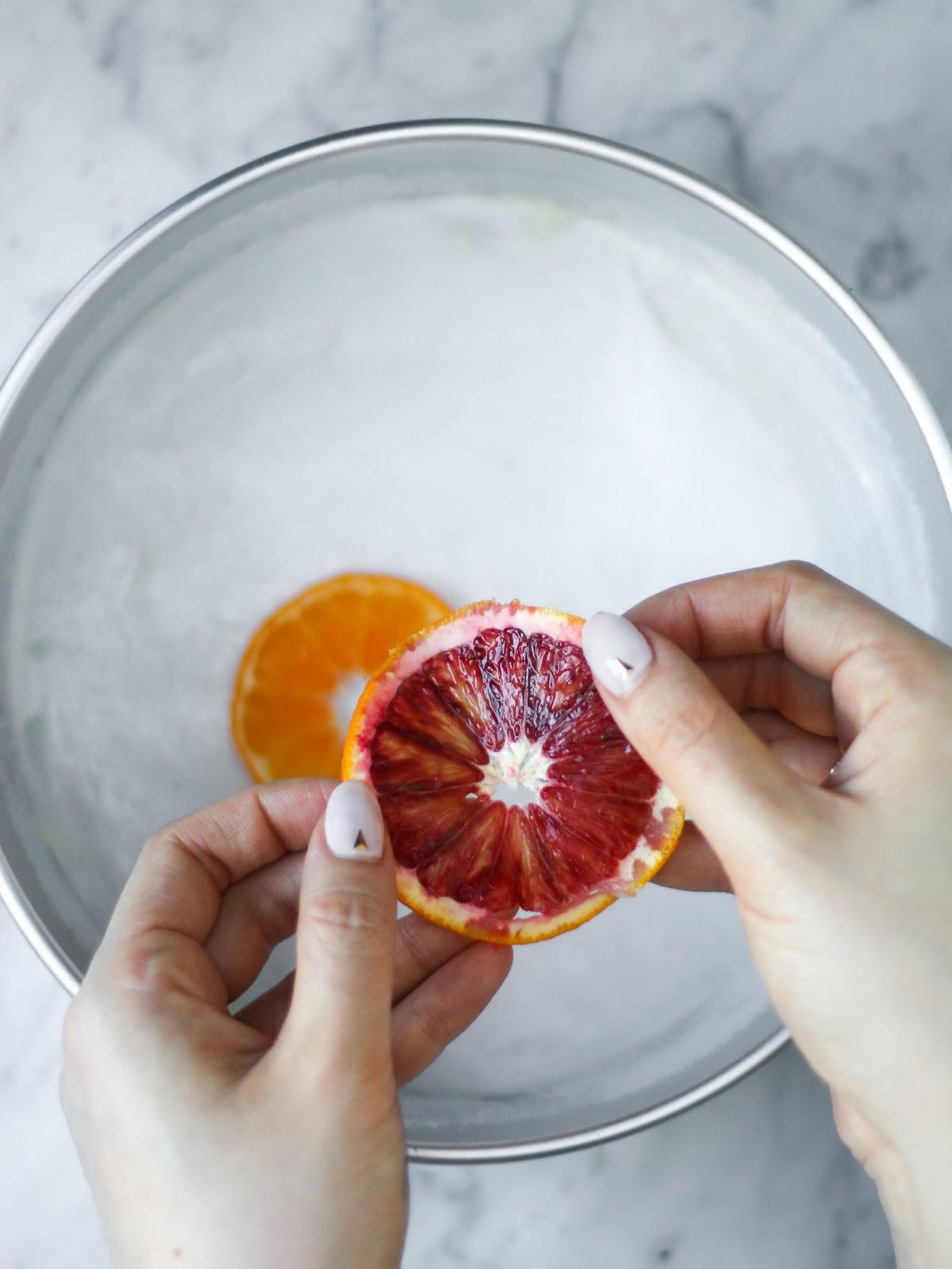 Mandarin Orange Upside Down Cake Happy Chinese New Year