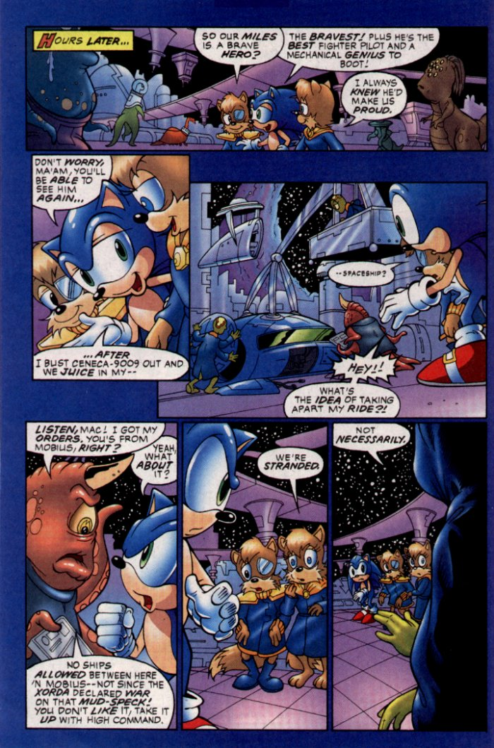 Read online Sonic The Hedgehog comic -  Issue #129 - 19
