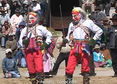 Danza Pacochis de Achacachi