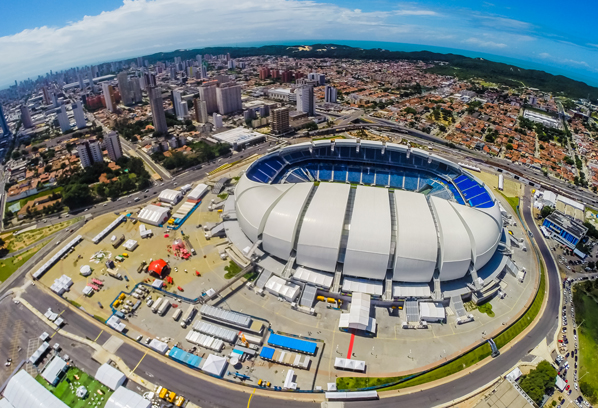 Vasco irá jogar na Arena das Dunas em fevereiro