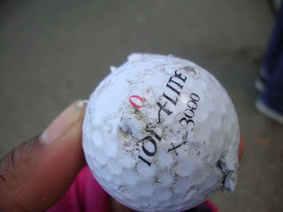 memento, souvernir, golf ball