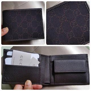 Gucci Men's Wallet~Ready Stock!
