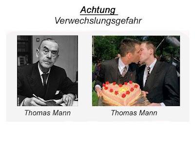 Thomas Mann Verwechslungsgefahr