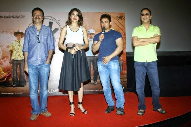 PK Movie trailer launch