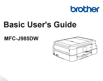 Brother MFC-J985DW User Manual