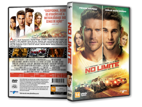 Capa DVD No Limite [Custom]