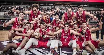 FIBA U18 Europe - Sırbistan Avrupa şampiyonu