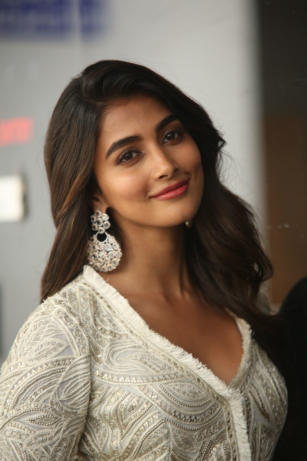 Pooja Hegde At Saakshyam Success Meet - South Indian Actress-3271
