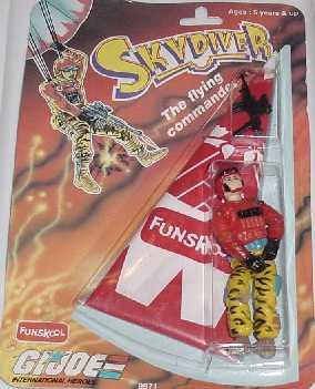 Funskool Skydiver, Crazylegs