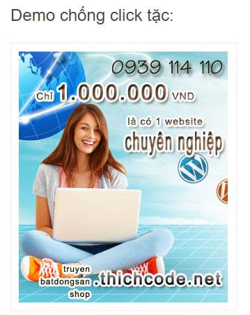 Chống click tặc cho adsense bằng javascript