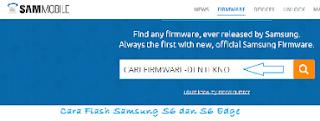 Tips Cara Flash Samsung S6 dan S6 Edge