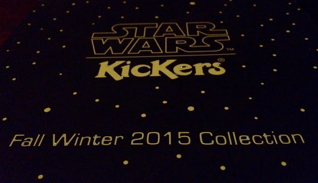 Kickers - Fall Winter 2015 Collection - Star Wars Kickers Colección otoño - invierno de Kickers / Star Wars - La guerra de las galaxias - Kickers Star Wars Sneakers / Zapatillas Star Wars de Kickers Miguel Ángel Representante + ÁlvaroGP