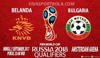 Prediksi Belanda vs Bulgaria 3 September 2017